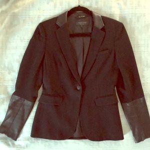 Women's Rag & Bone Blazer in Black Size 2